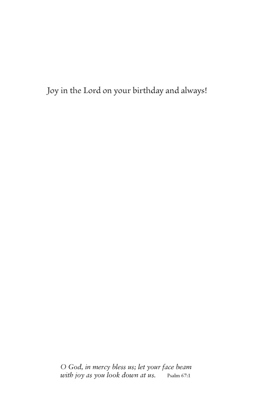 Happy Birthday. Love, Joy, Blessings - Jpg file