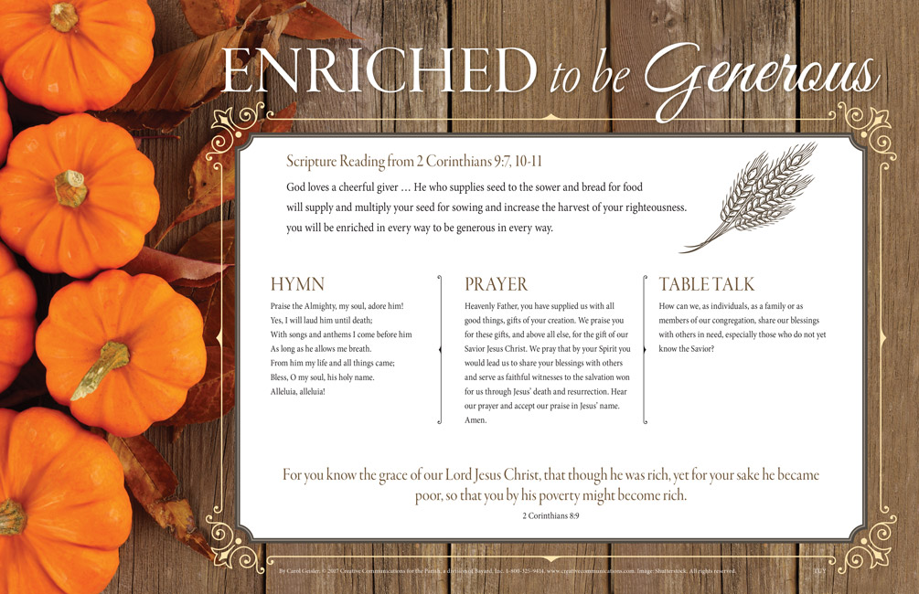 Thanksgiving Placemat - Jpg file