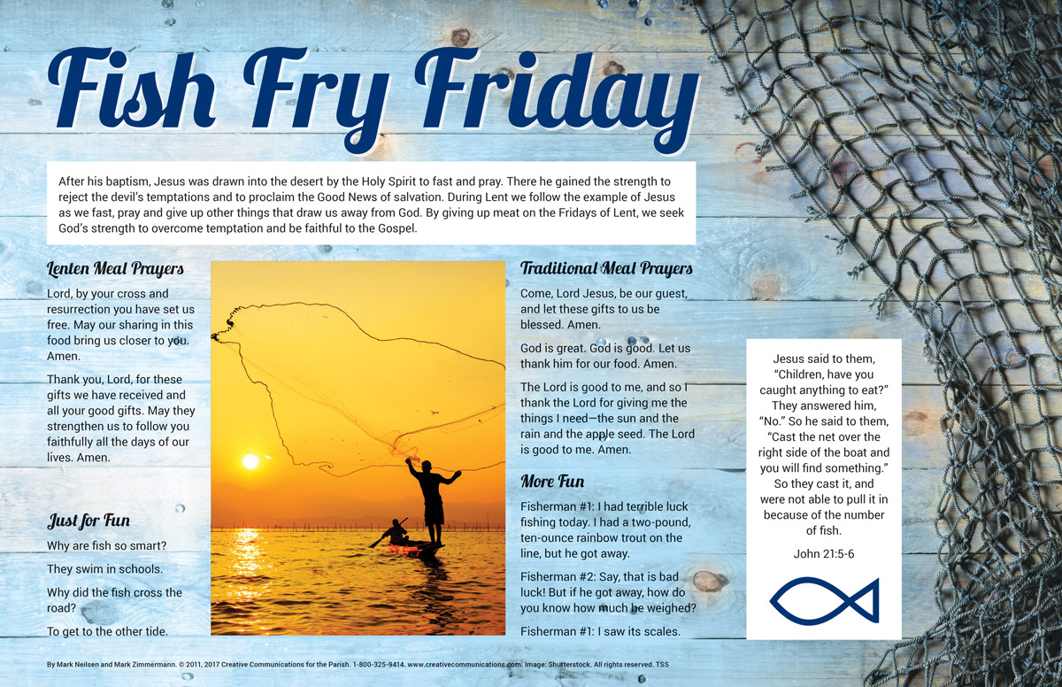 Fish Fry Placemat - Jpg file