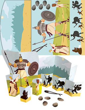David And Goliath Activity Sheet