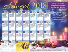 2018 Adult Advent Calendar Protestant