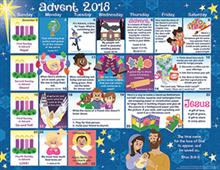 2018 Advent Children's Calendar - Protestant