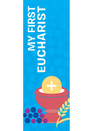 First Eucharist Bookmark