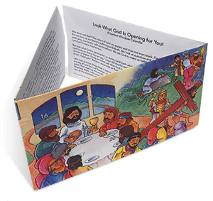 Lenten Tabletop Window Calendar