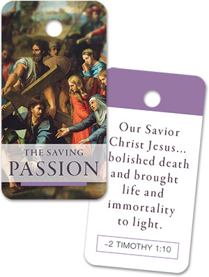 Lenten Key Tag