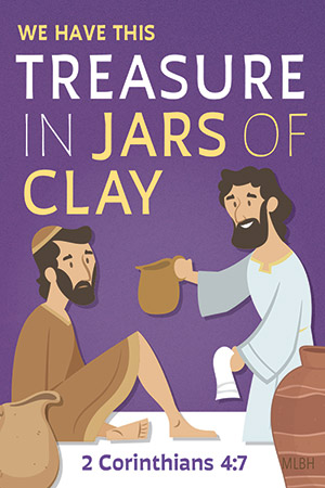 Treasure in Jars of Clay Lent Magnet