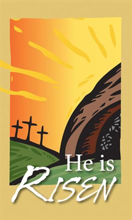He Is Risen - Easter Banner Product/Goods 6ë : Creative ...
