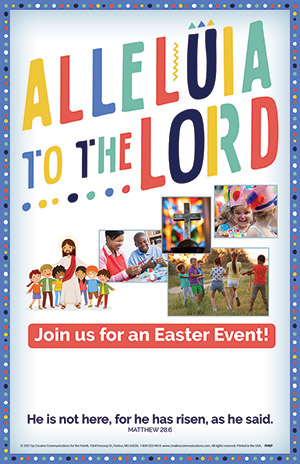 Easter Parish Event - Posters