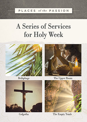 Places Of The Passion - Holy Week Kit