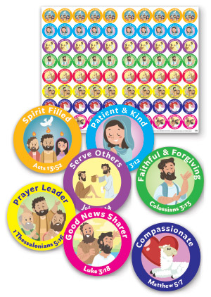 Good Virtues Sticker Sheets
