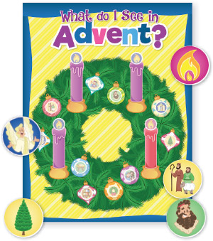 What Do I See At Advent? Poster And Stickers