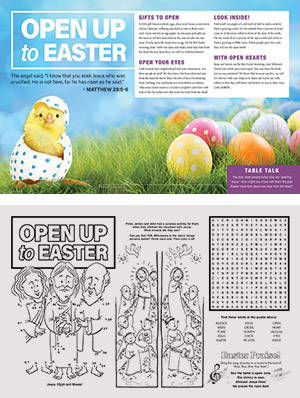 Open Up to Easter Placemat