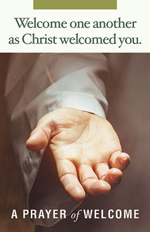 Welcome You Belong Prayer Card (Product/Goods)