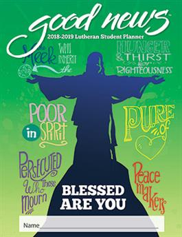 2018-2019 Lutheran Elementary Student Good News Planner