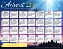 2016 Adult Advent Calendar Protestant