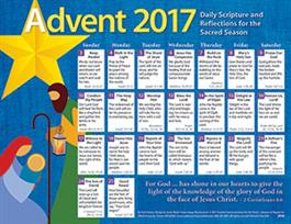 2017 Adult Advent Calendar Protestant
