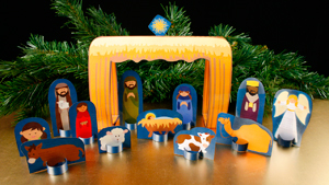 BRIGHT STAR OF BETHLEHEM CRECHE