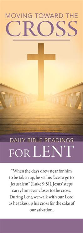 Lent Biblical Bookmark