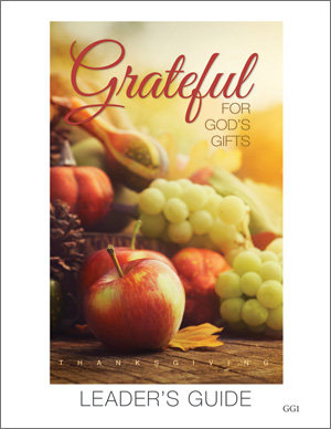 Grateful For God's Gifts Thanksgiving Service