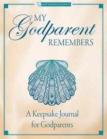 My Godparent Remembers - Keepsake Reminder Of Baptism