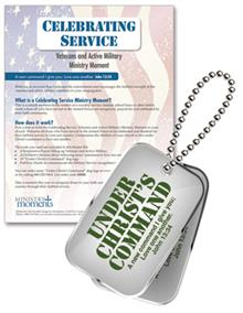 Celebrating Service: Veterans And Active Military Ministry Moment