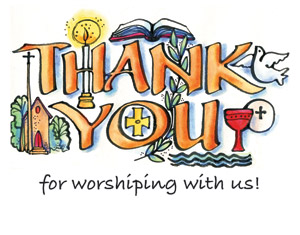 Thank You For Worshiping Po Card - Custom Imprinted