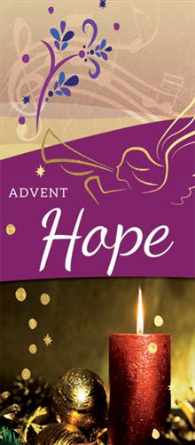 Hope Advent Banner Week 1