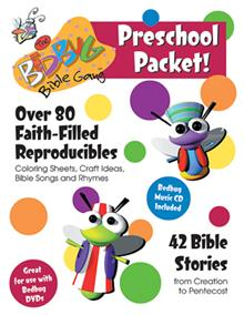 Bedbug Bible Gang Preschool Packet