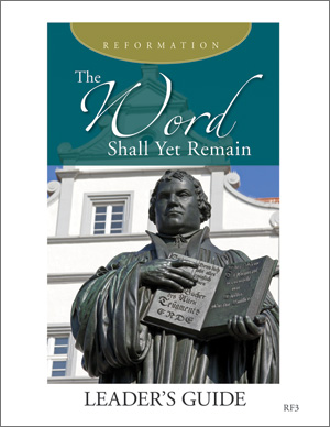 The Word Shall Yet Remain Reformation Service