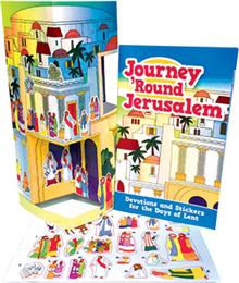 Journey Round Jerusalem - Booklet Poster And Sticker Sheet