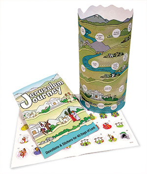 Combo: Jerusalem Journey - Booklet, Poster (Product/Goods)