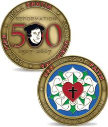 Reformation 500 Soft Enamel Coin
