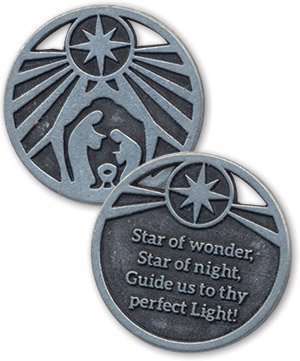 Star Of Wonder - Advent Metal Coin (Product/Goods)