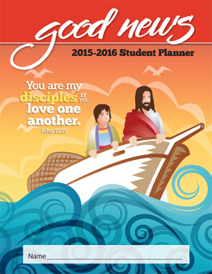 2015-2016 Christian Elementary Student Good News Planner