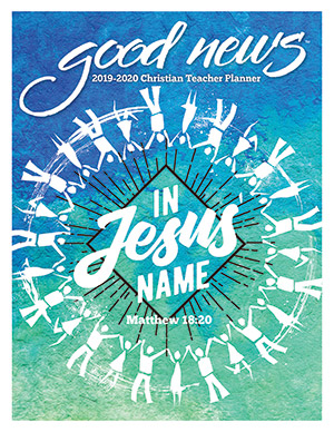 2019-2020 Elementary Christian Teacher Good News Planner with Grade Book